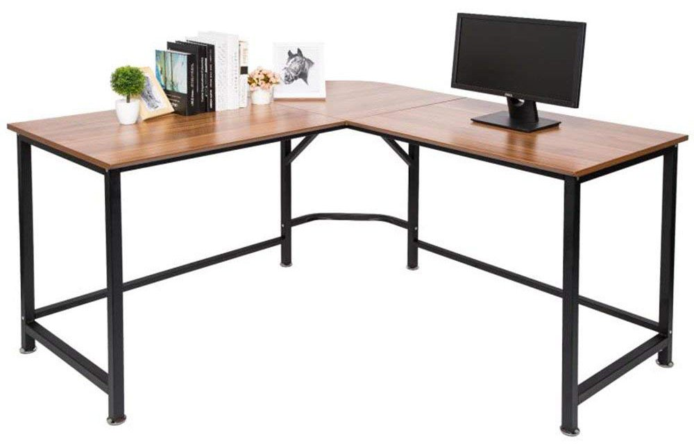 topsky's l-shaped desk