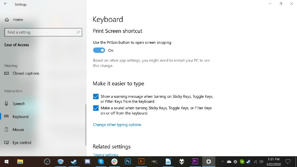 Remap what your print screen key does