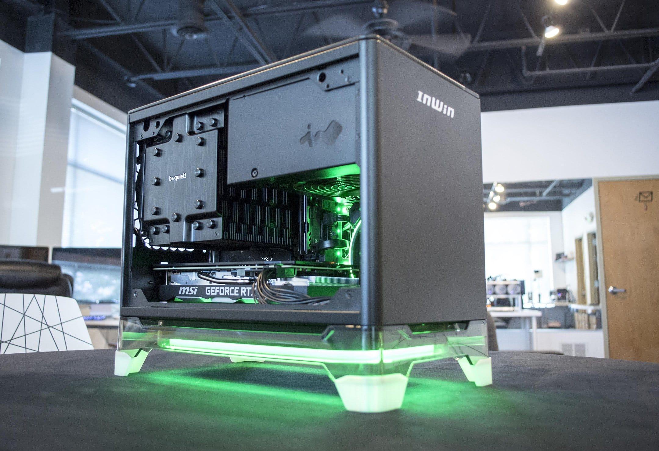 Mini ITX PC case example