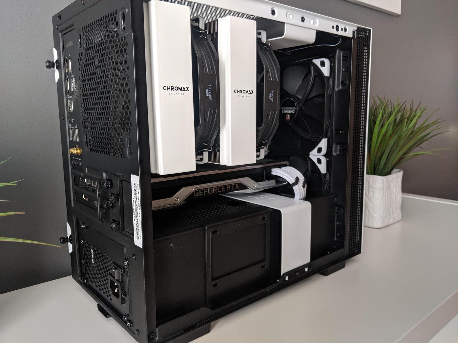 Noctua NH-D15 air cooler example build