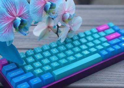 "carohermy's ""Orchid"" Mechanical Keyboard"
