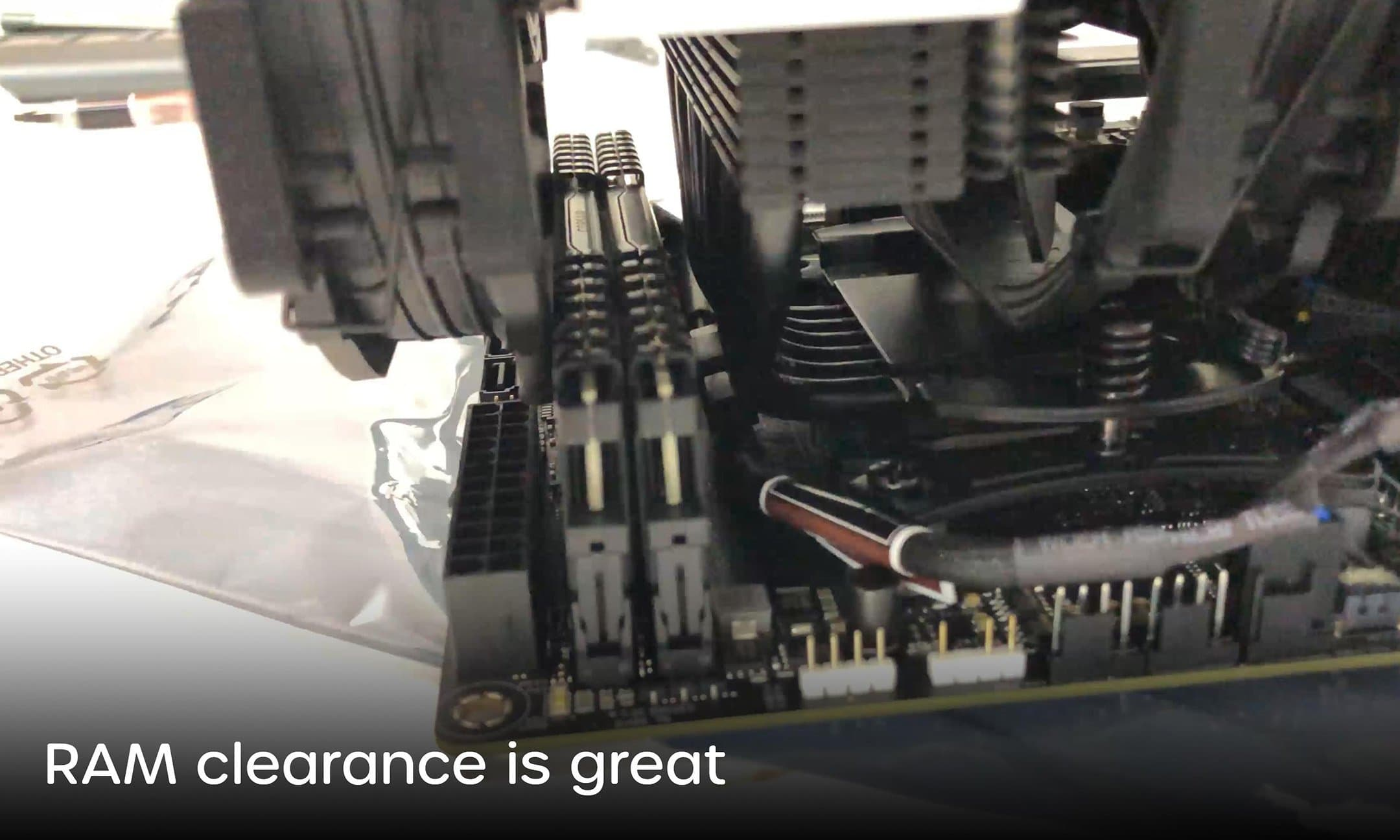 tight RAM clearance example
