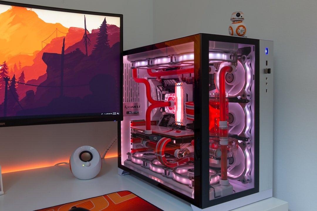 Lian-Li's unique O11 Dynamic case