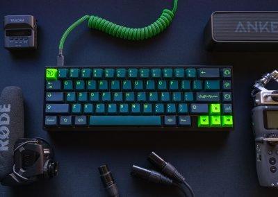 Noonite's Wavez Mechanical Keyboard