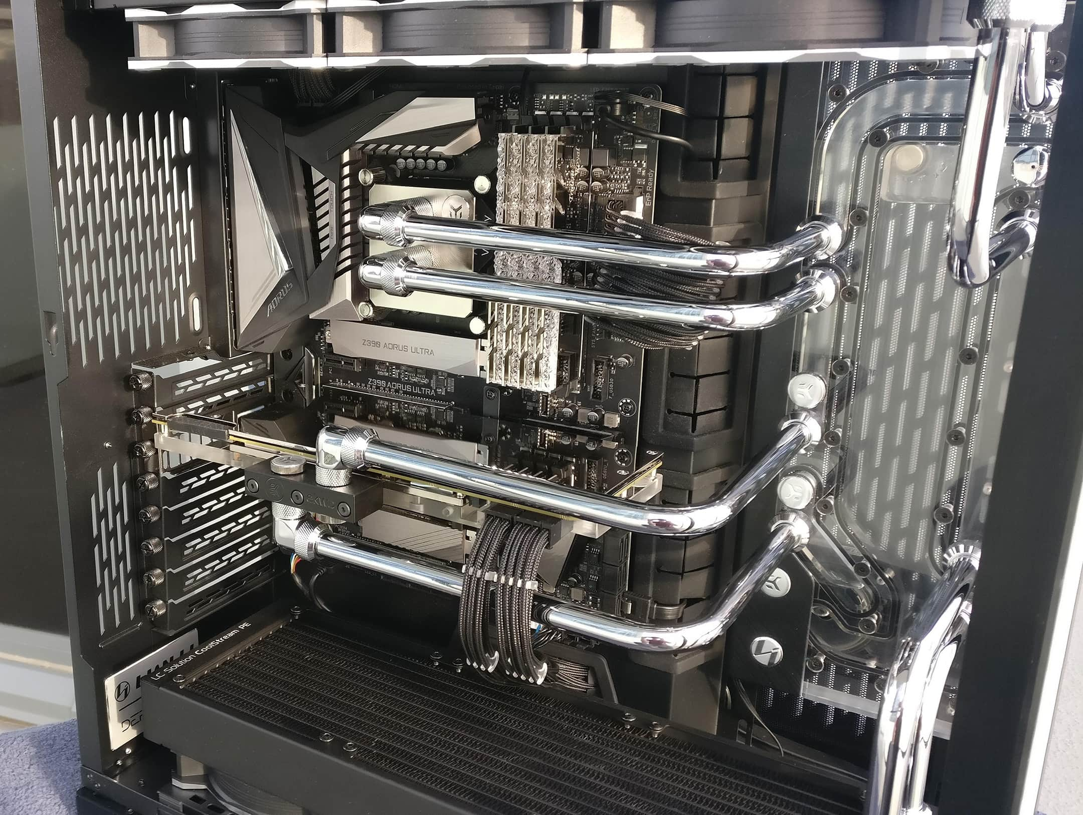 Example full tower PC case