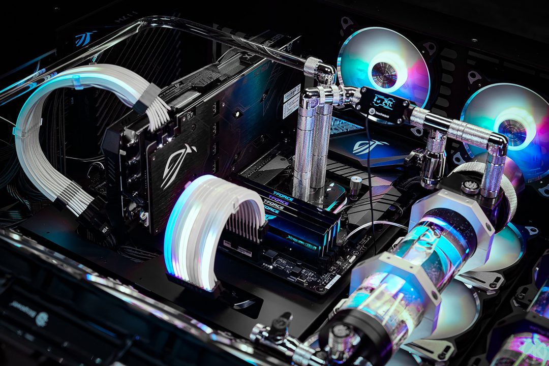 Your motherboard dictates the rest of your build.