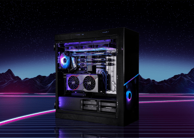 "Tech4Gaming's ""Retrowave"" PC Build"