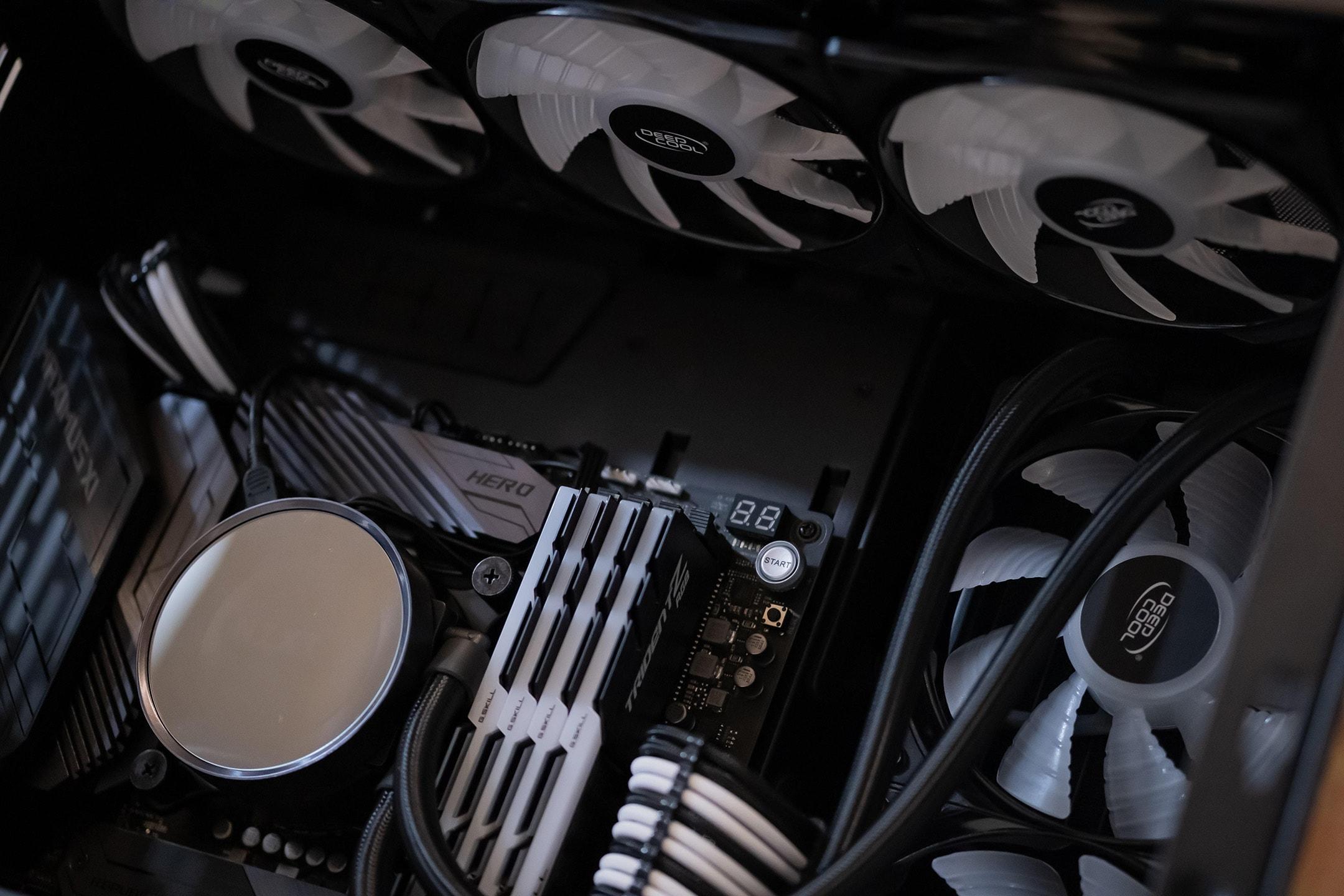 CPU AIO Liquid cooler example
