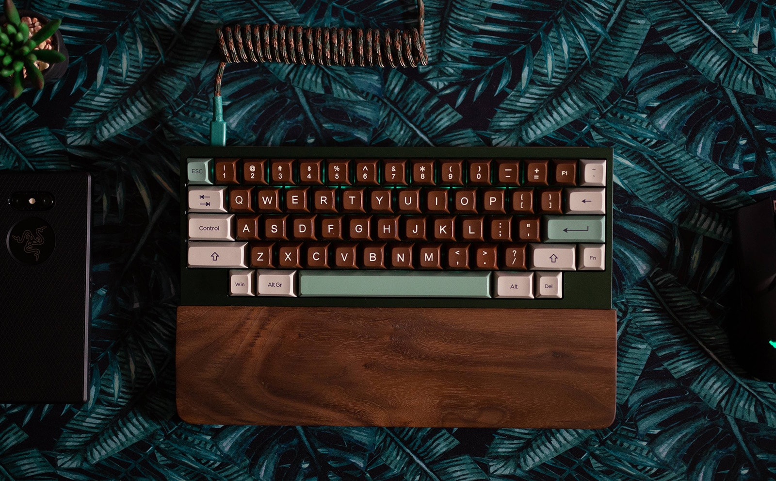 60% keyboard size example