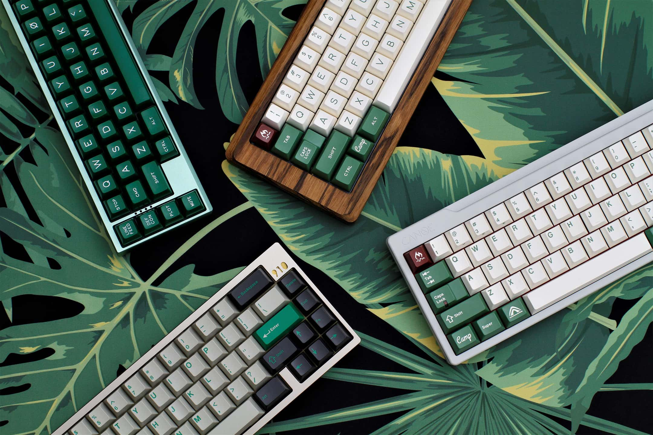 different mechanical keyboard sizes