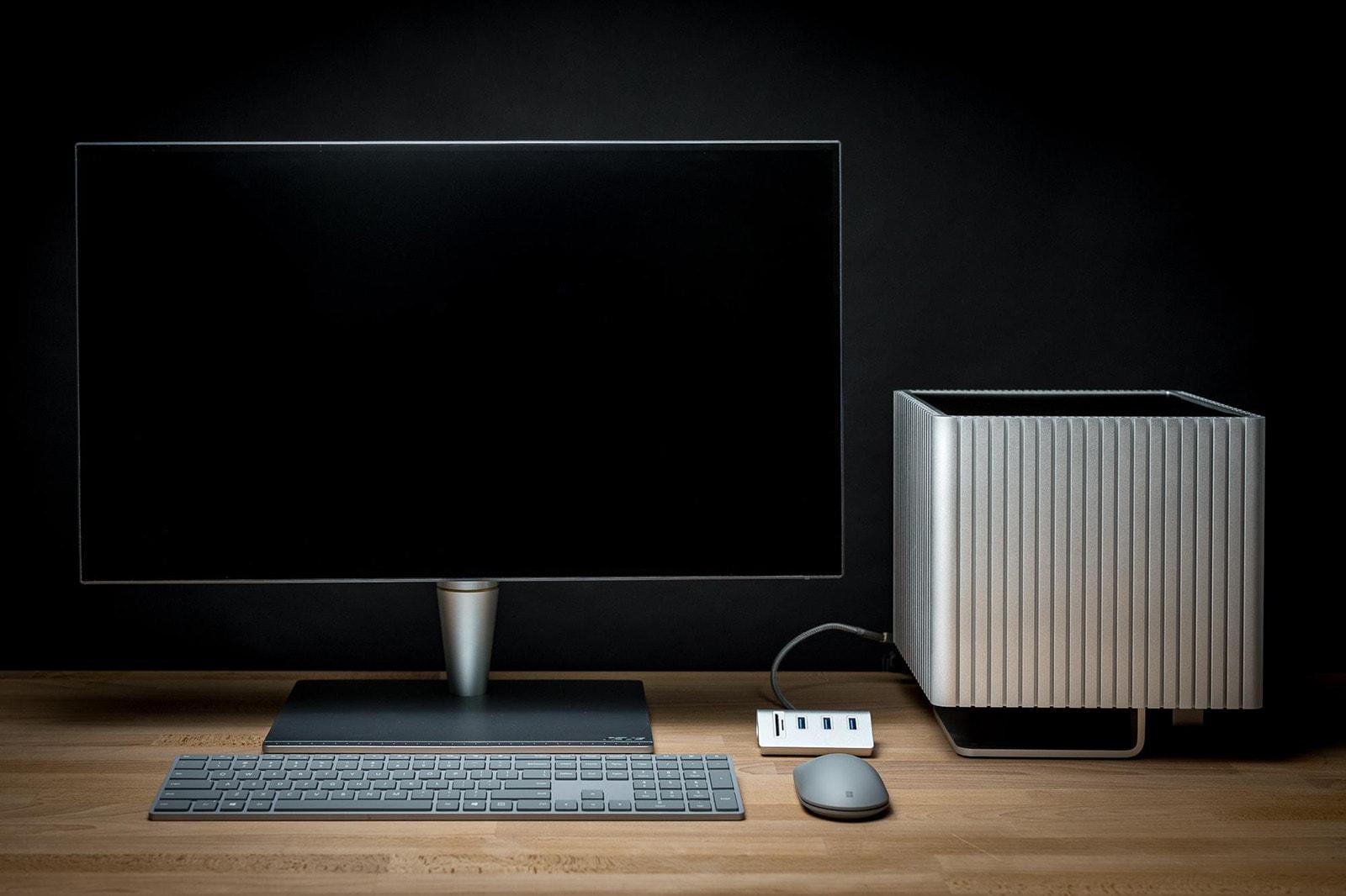 The unique Streacom DB4 PC case