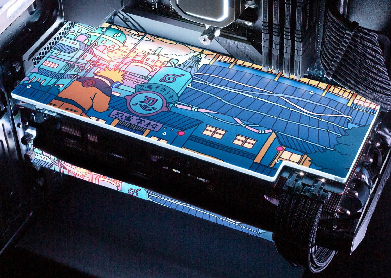 V1 Tech Naruto GPU backplate