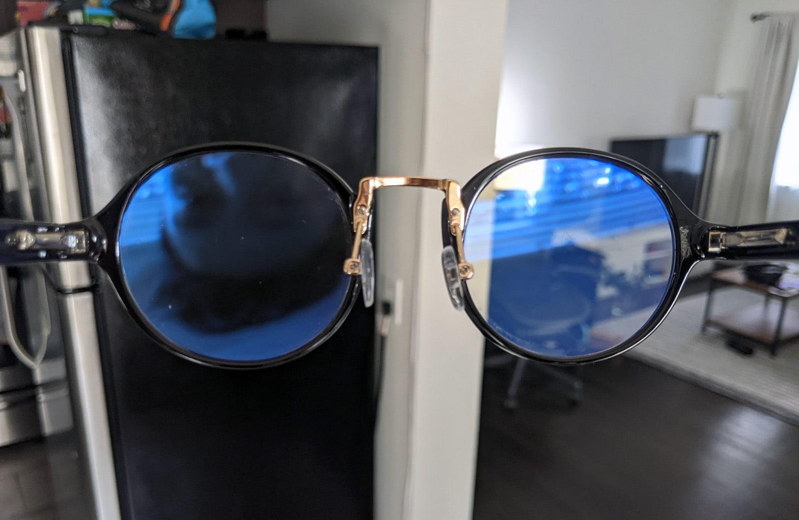 Gaming glasses aka blue-light-blocking glasses