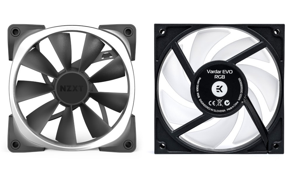 airflow vs static pressure fans side-by-side
