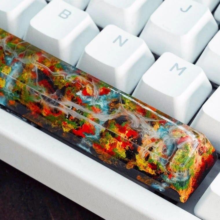 Artisan keycap example