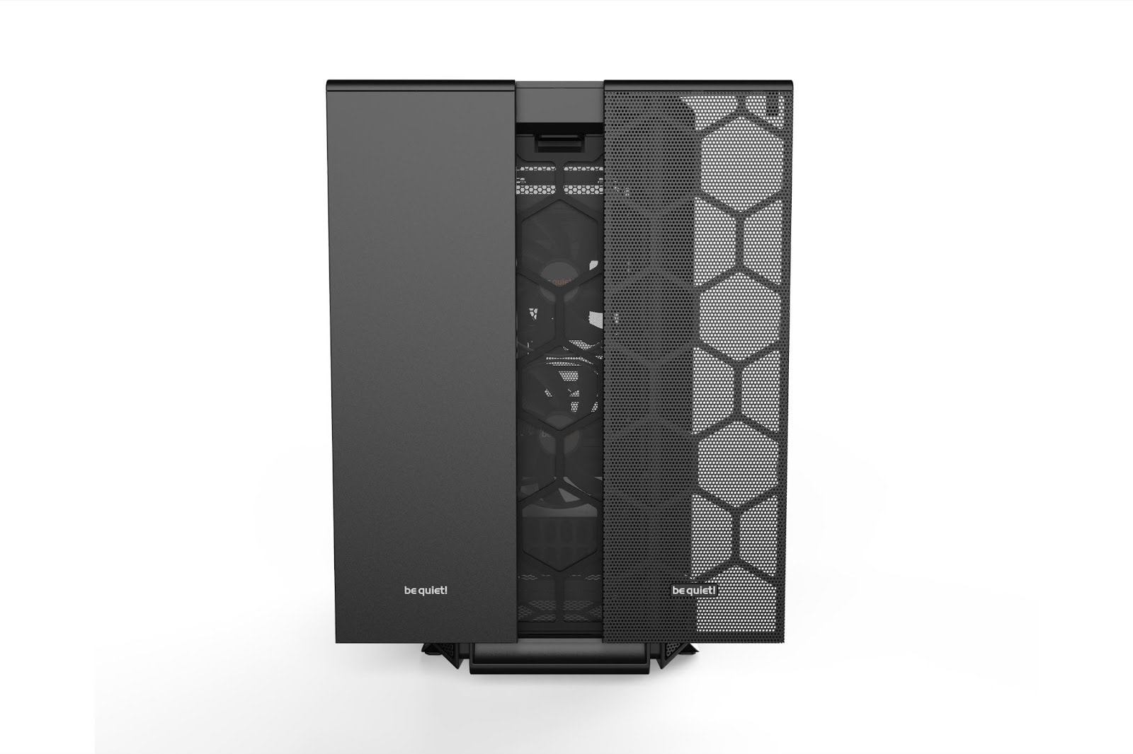 be quiet silent base front panel
