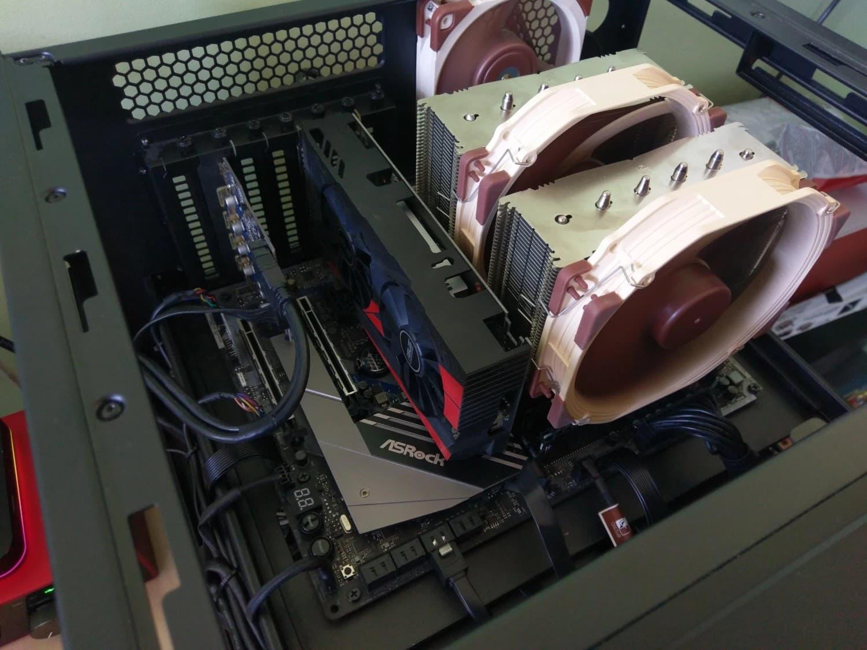 cooler master haf xb build