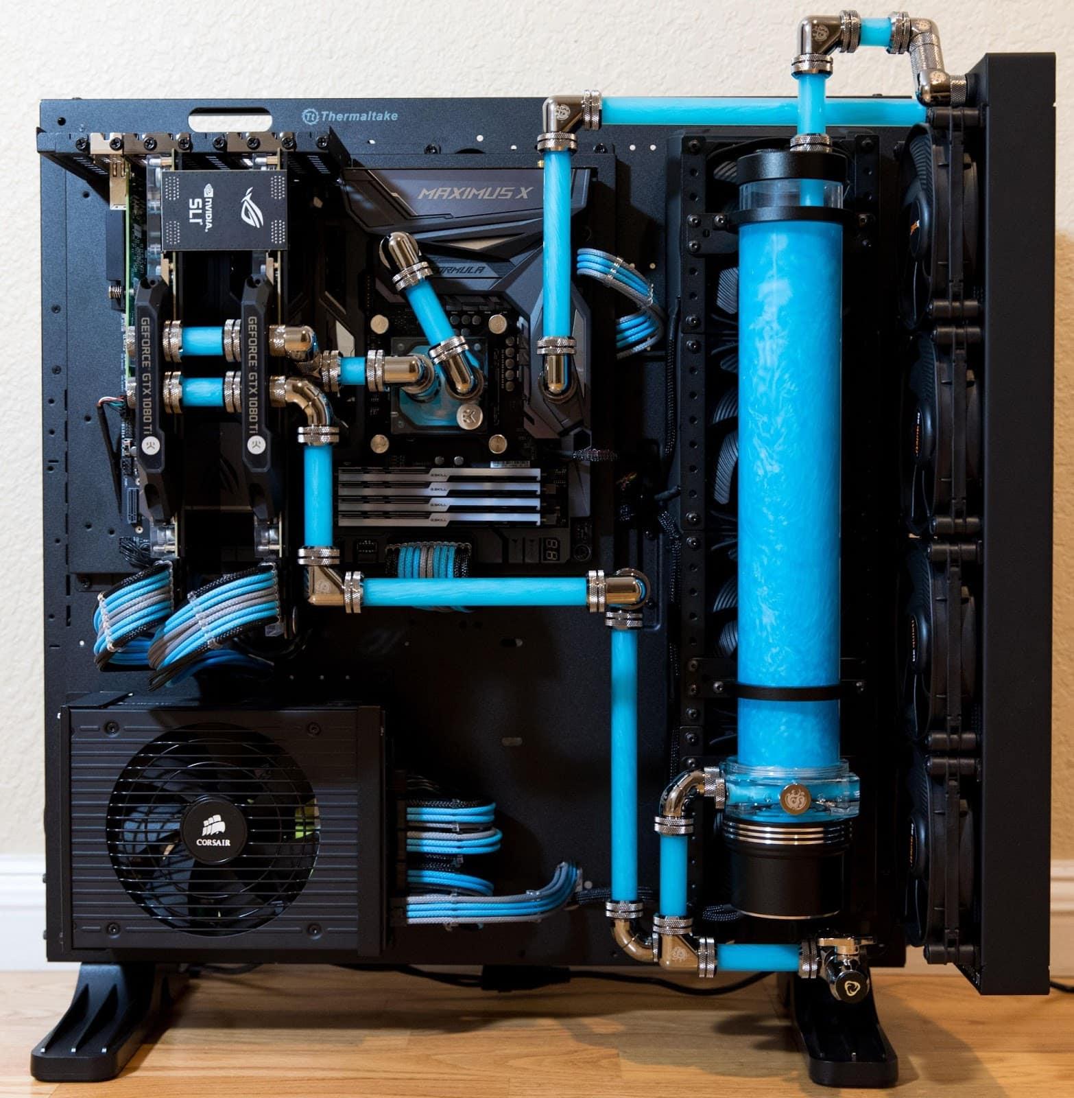 thermaltake p5 build