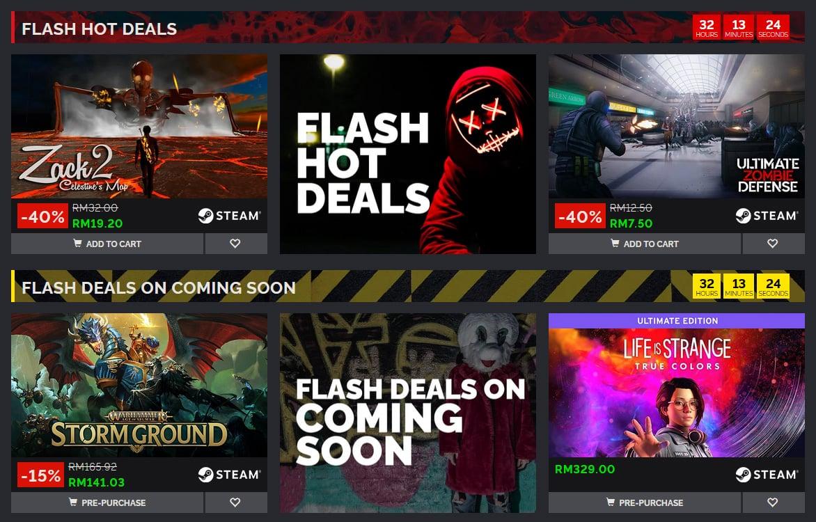 green man gaming flash deals