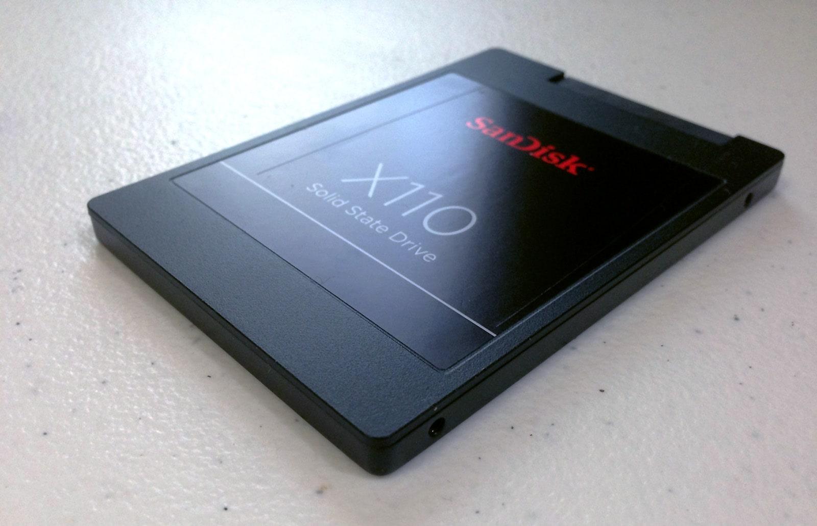 sata SSD example