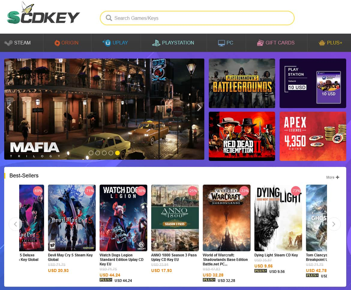 scdkey home page