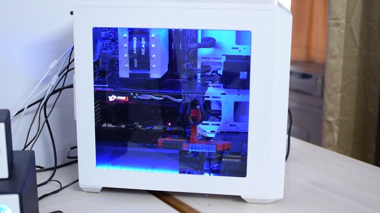 Deepcool RGB350 build