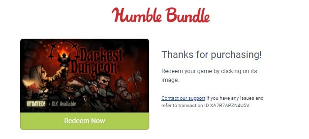 humble game key email