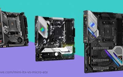 Mini ITX vs. Micro ATX vs. ATX: Motherboard Sizes Explained