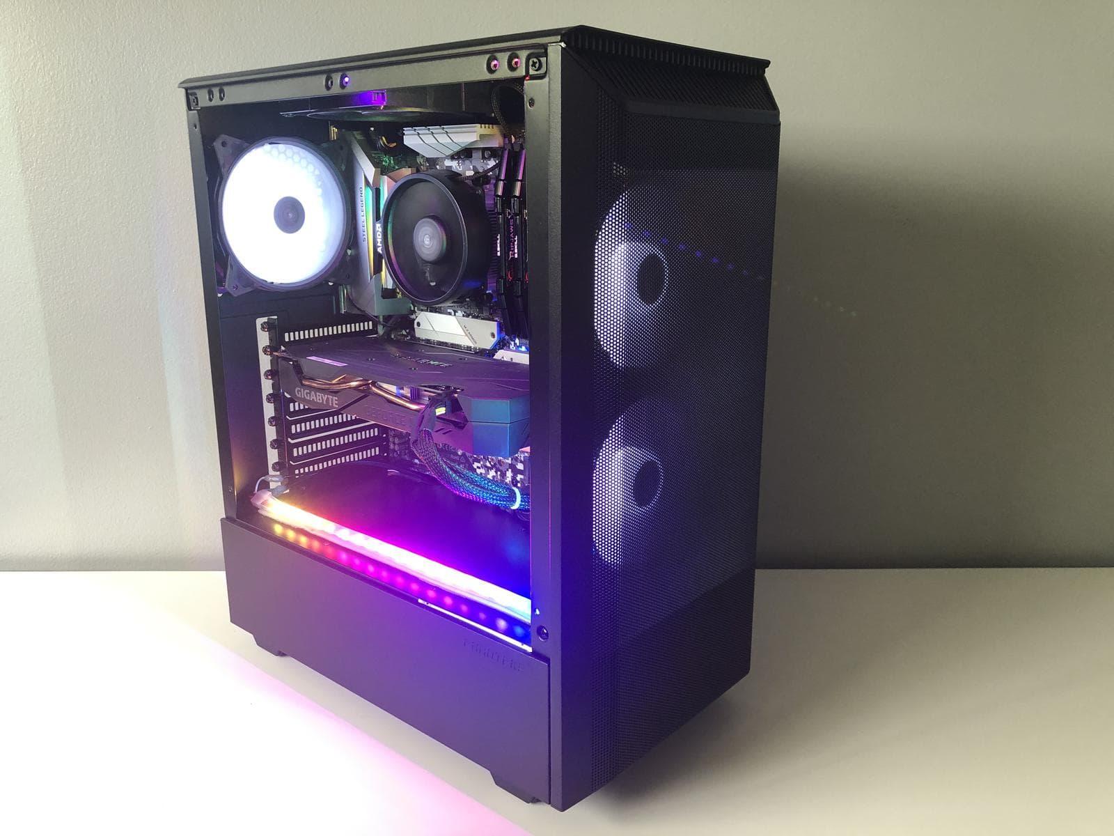 phanteks p300a build
