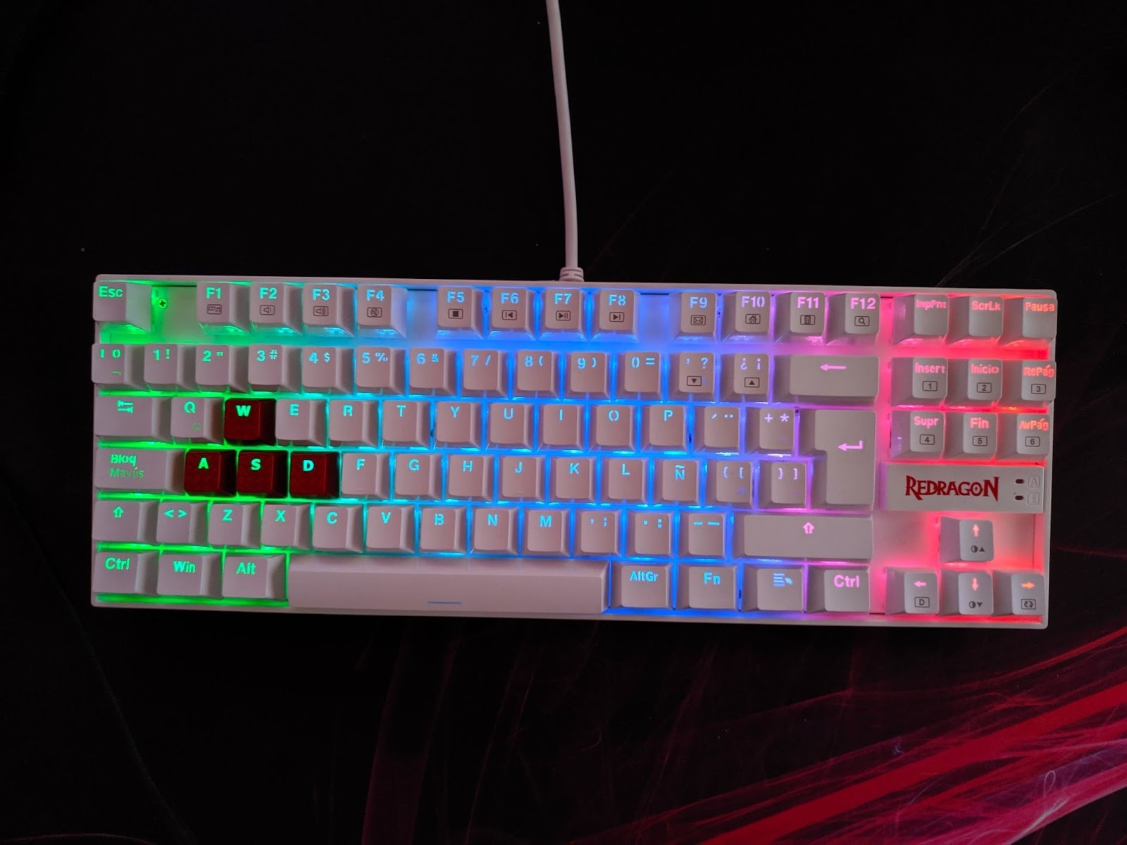 redragon kumara budget gaming keyboard