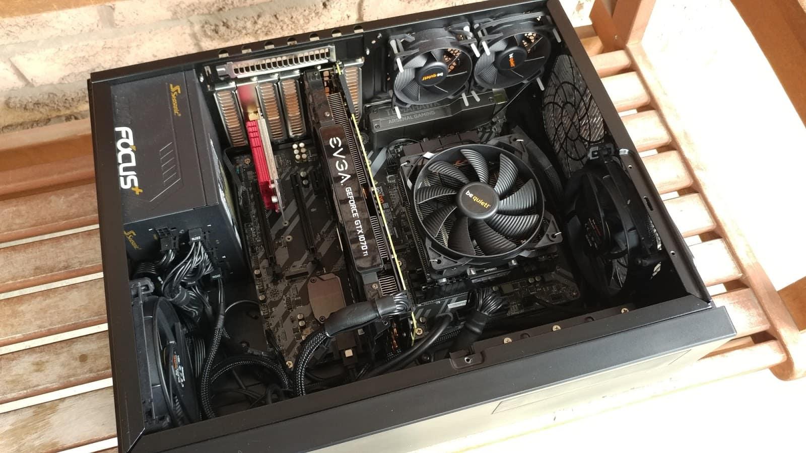 silverstone gd09 build