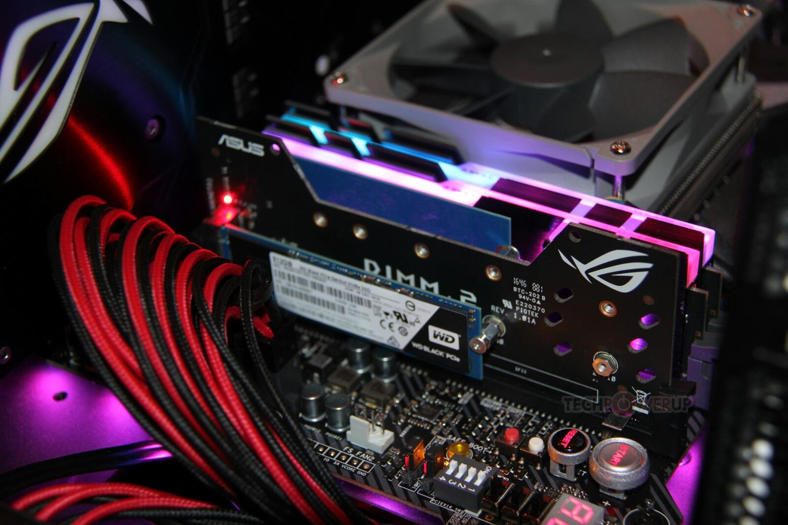 Extra M.2 slots on the ASUS ROG Zenith II Extreme Alpha