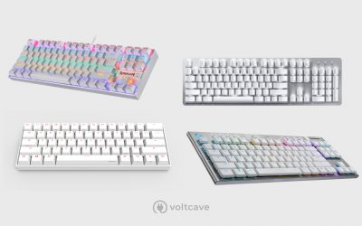 The 7 Best White Gaming Keyboards for Your All-White Setup