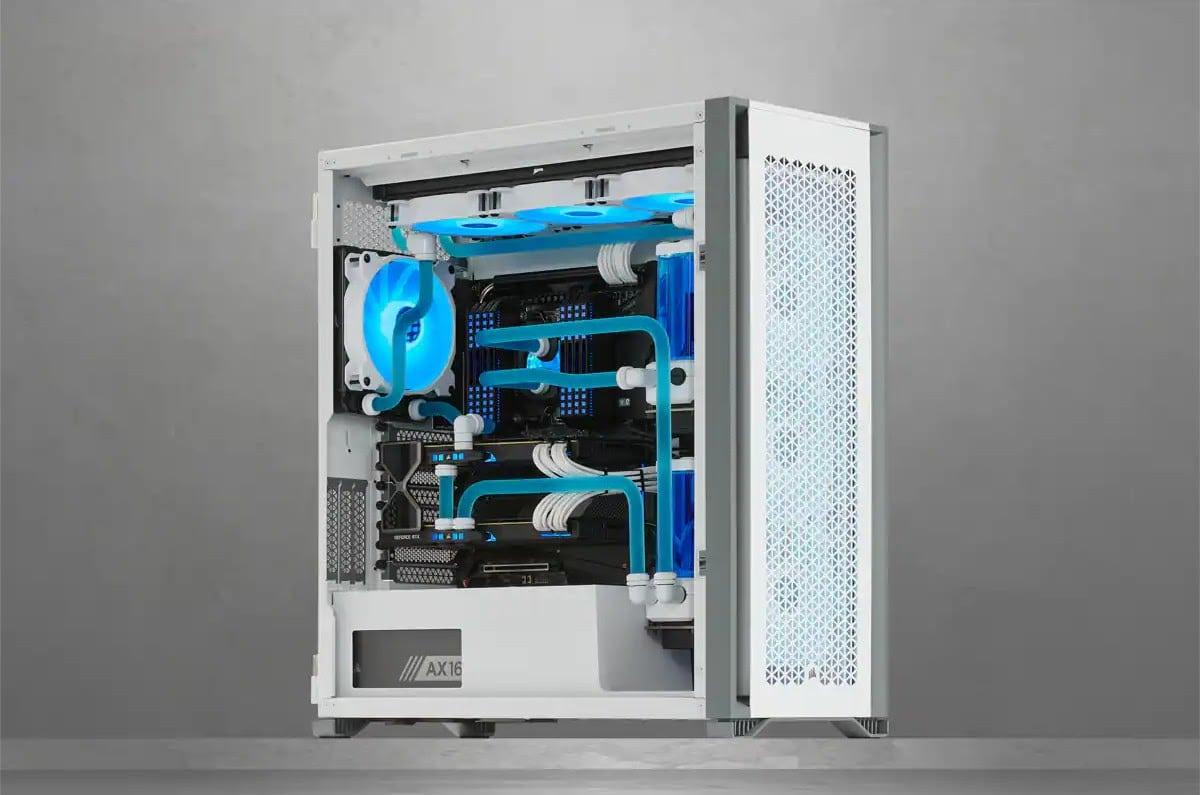 Corsair 7000D white full tower case