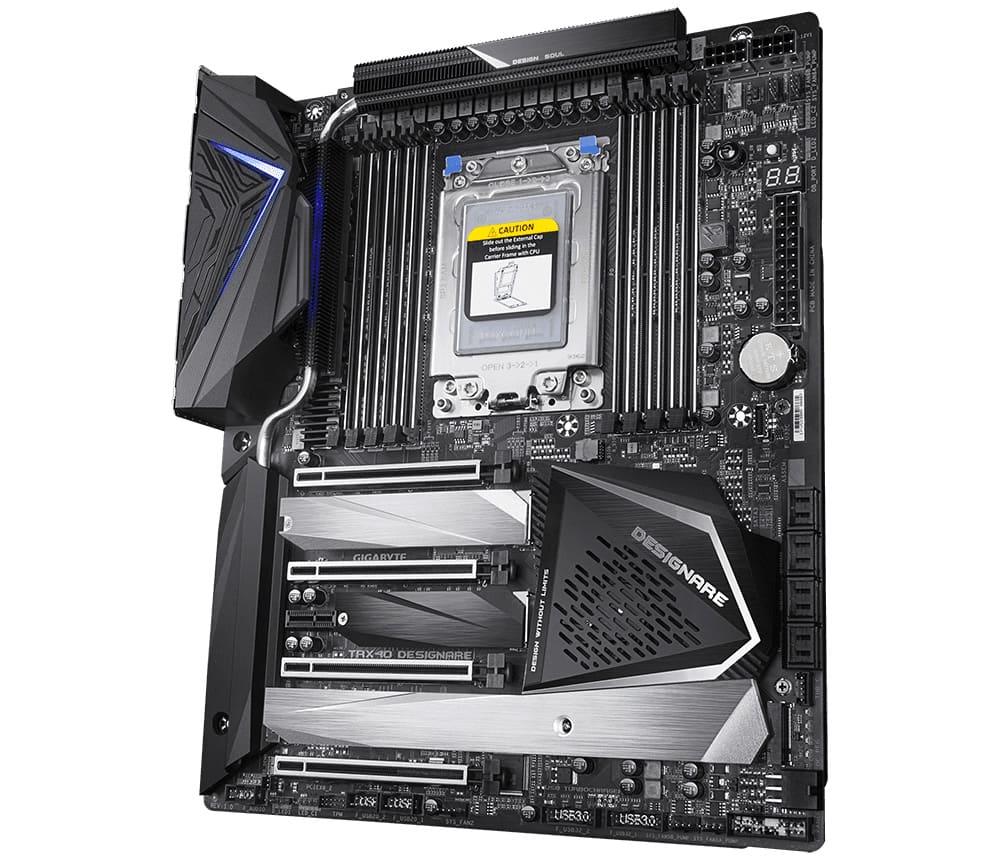 The Gigabyte TRX40 Designare