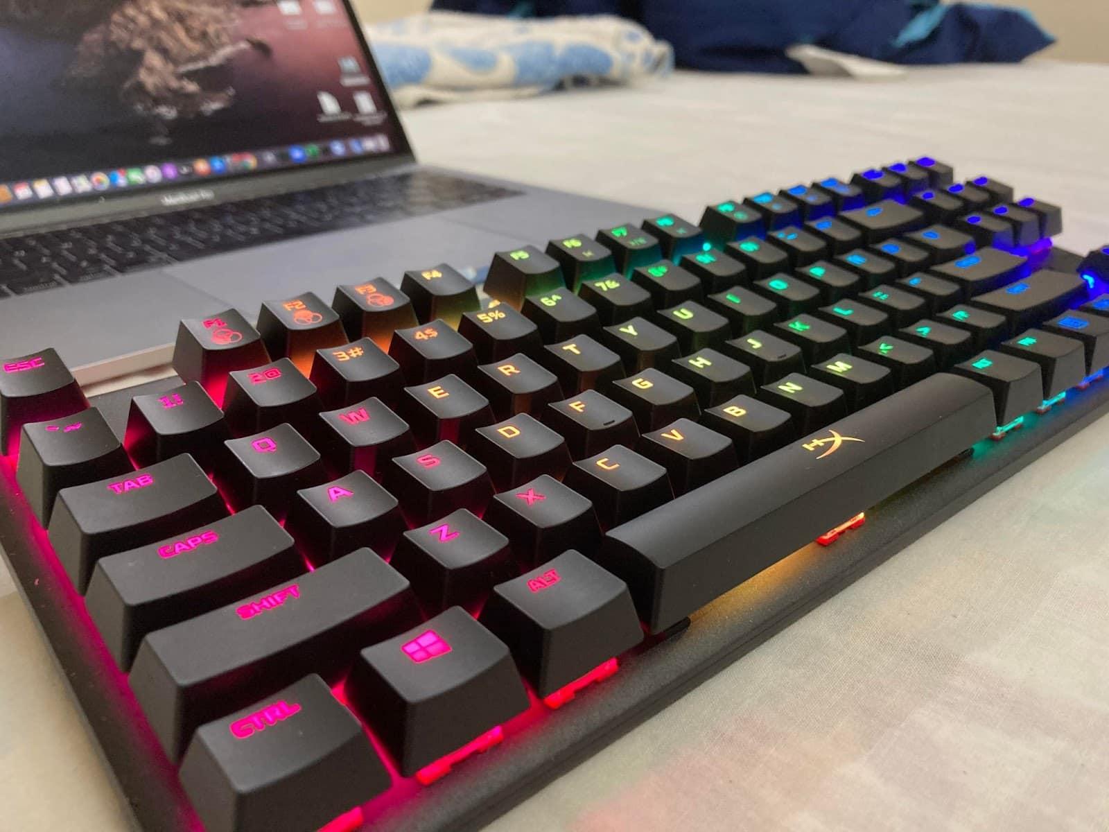 hyperx alloy origins core tkl keyboard
