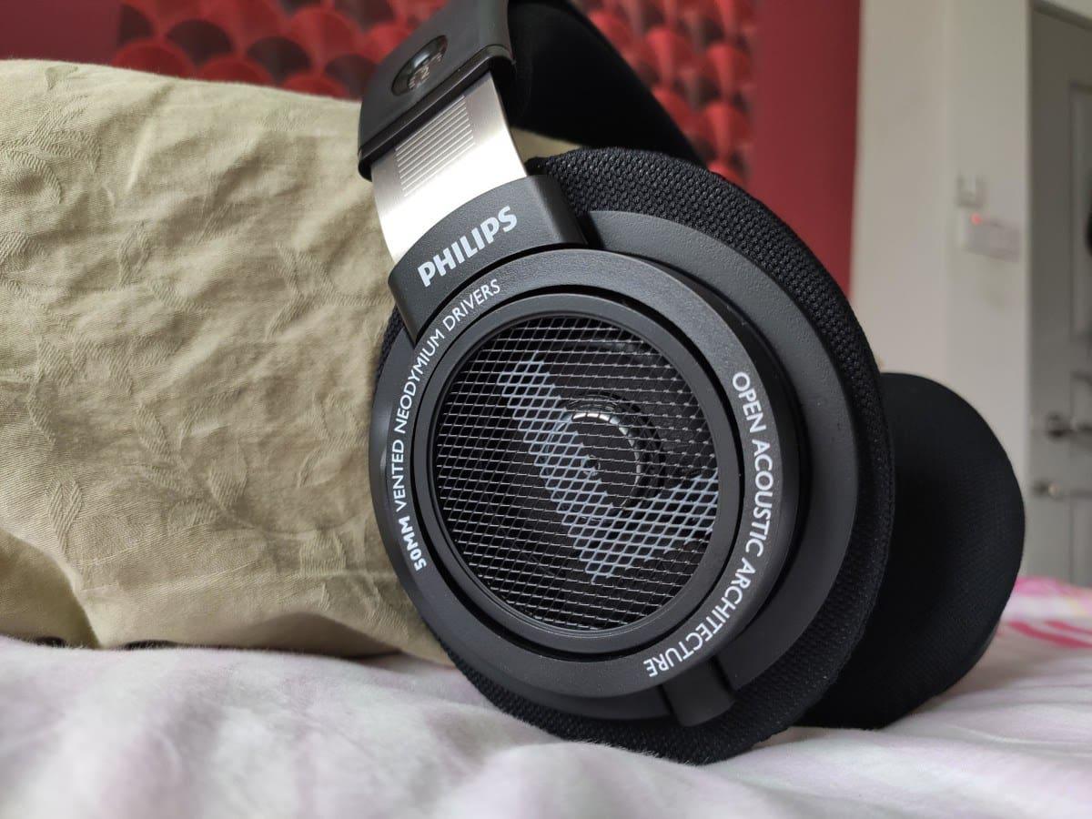 example of open-back headphones