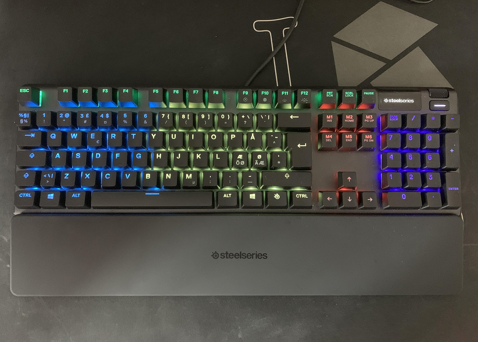 steelseries apex 5, our pick for best gaming keyboard under $100