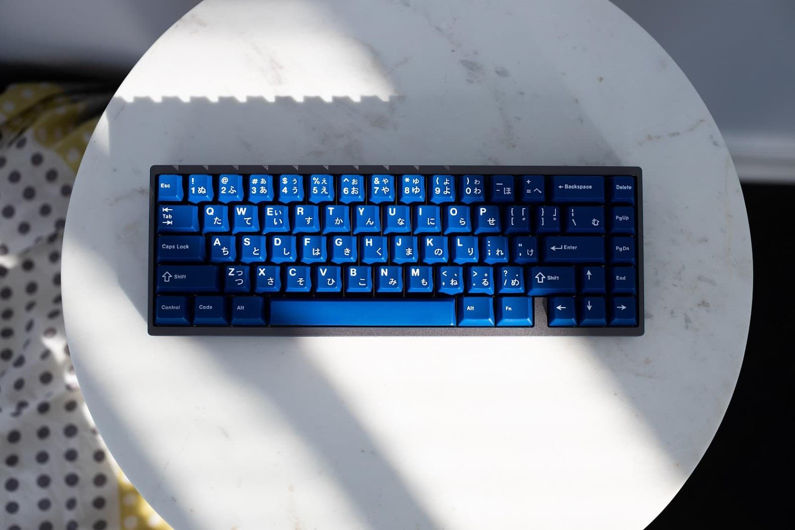 GMK Striker, an example of ABS keycaps