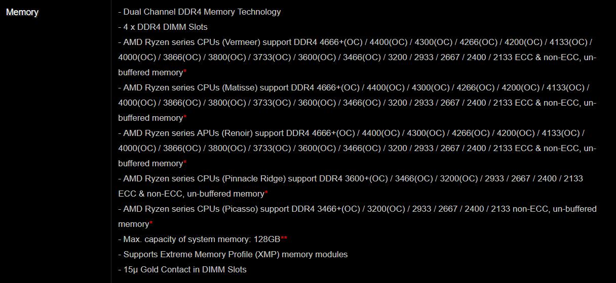 RAM manual