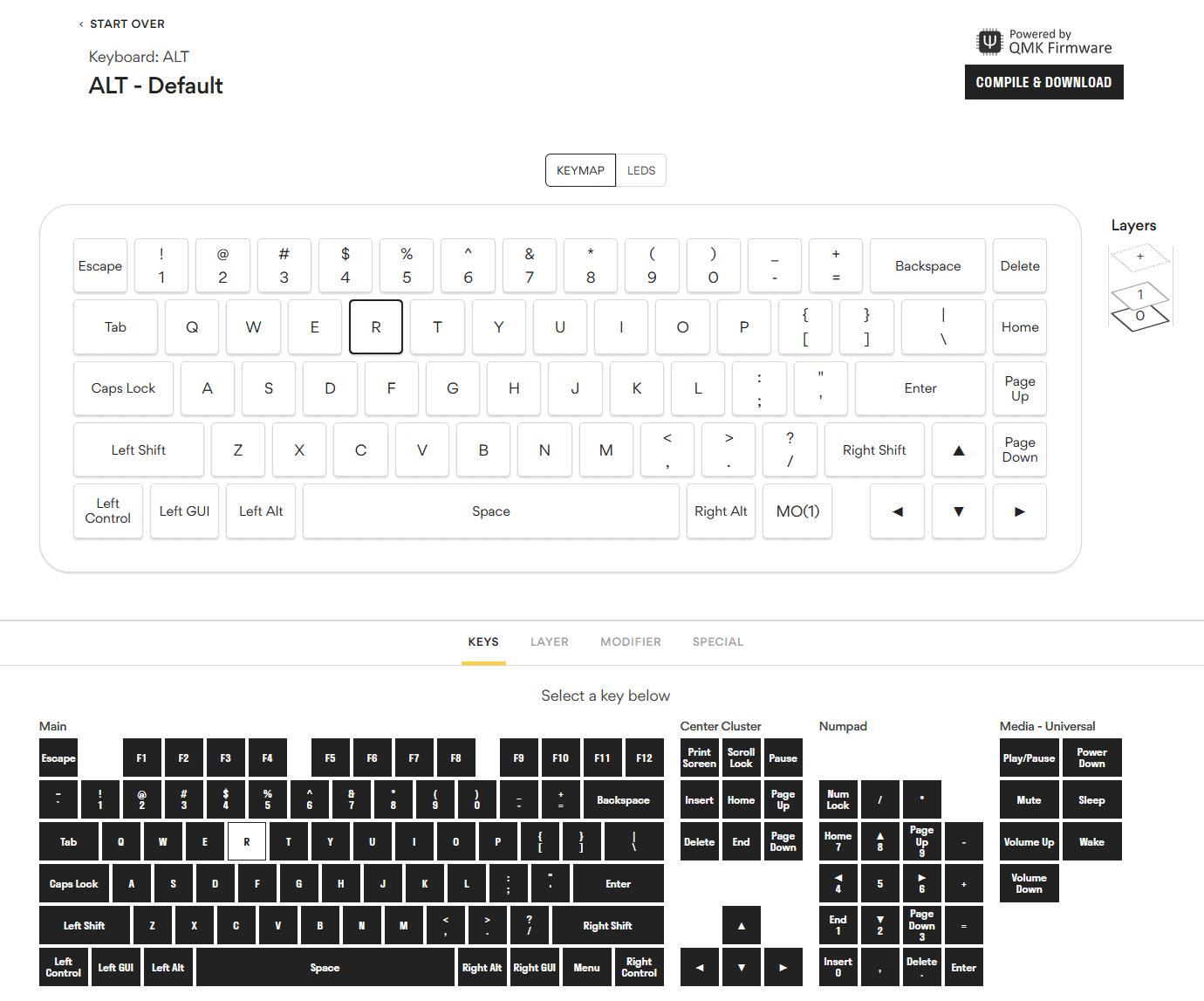 Drop Keyboard Software