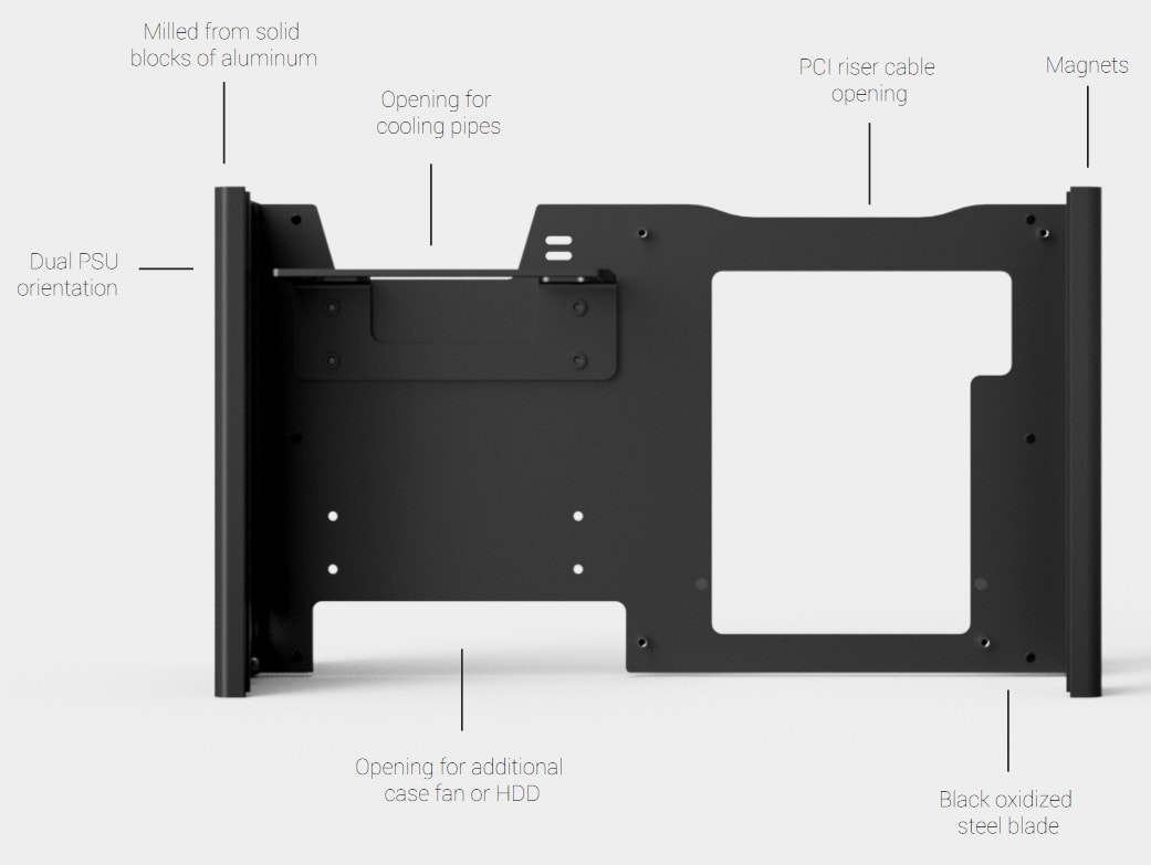 Louqe Ghost S1 configuration