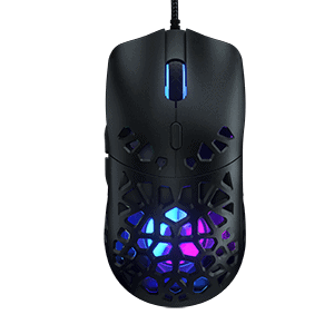 Marsback Zephyr Pro Gaming Mouse with Built-In Fan
